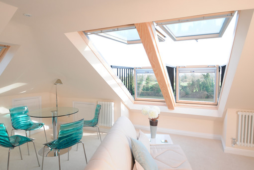 Large VELUX loft conversion, Bray