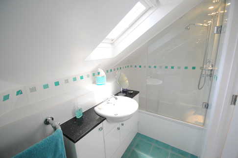 Independent bathroom in full loft conversion, Berkshire