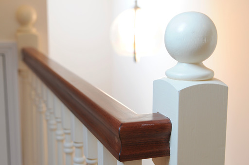 Traditional staircase in Maidenhead