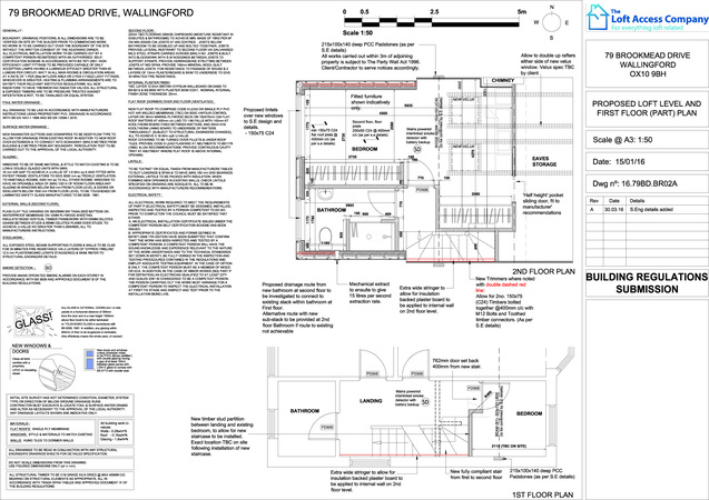 structural drawings for loft conversion