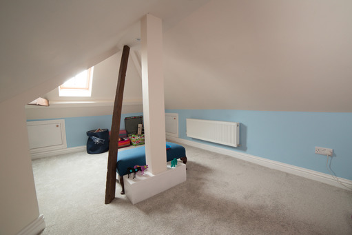 Rear dormer loft conversion playroom