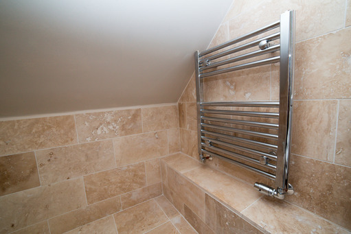 Loft conversion wetroom, Newbury