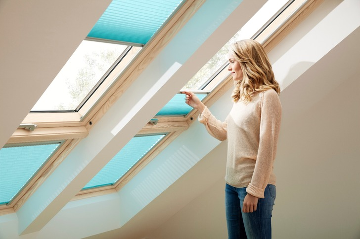 Velux roof window ventilation