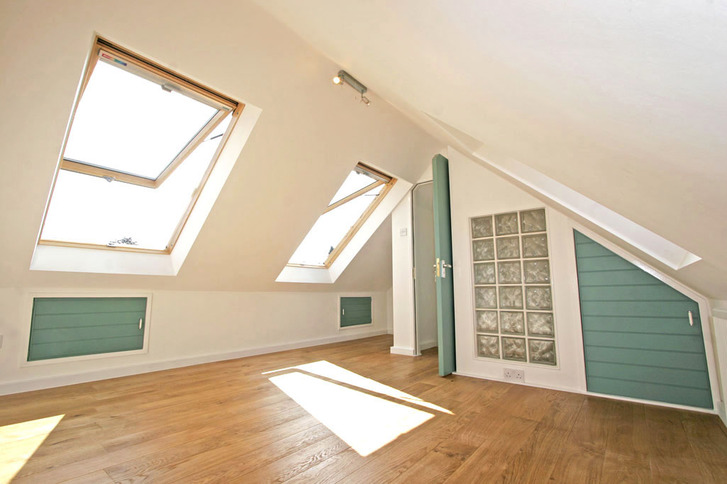 Beautiful part loft conversion with Velux roof windows
