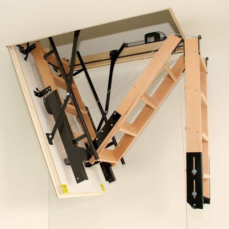 Electric Loft Ladders The Loft Access Company