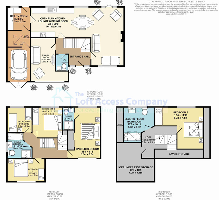 architectural plans for loft conversion