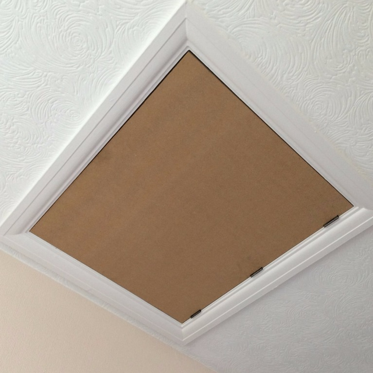 how to build a loft hatch