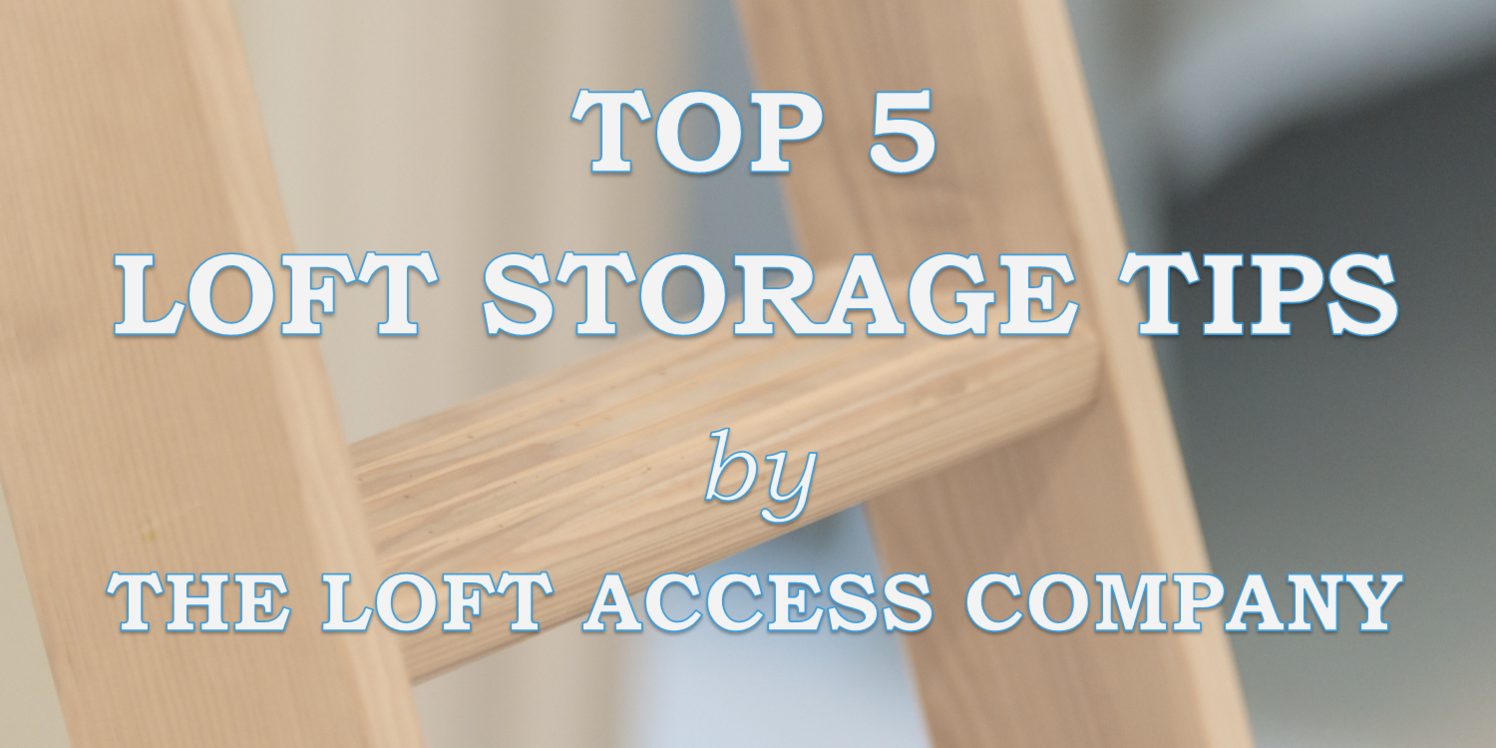 Top 5 Tips for creating the perfect storage space