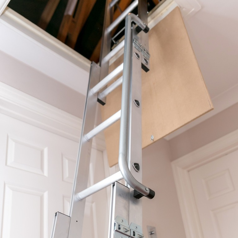 Aluminium sliding loft access ladder windsor