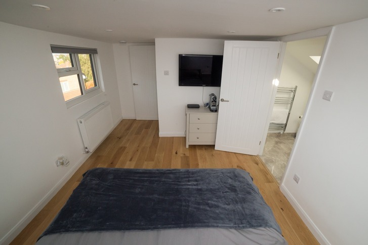 Bedroom in loft conversion, Maidenhead