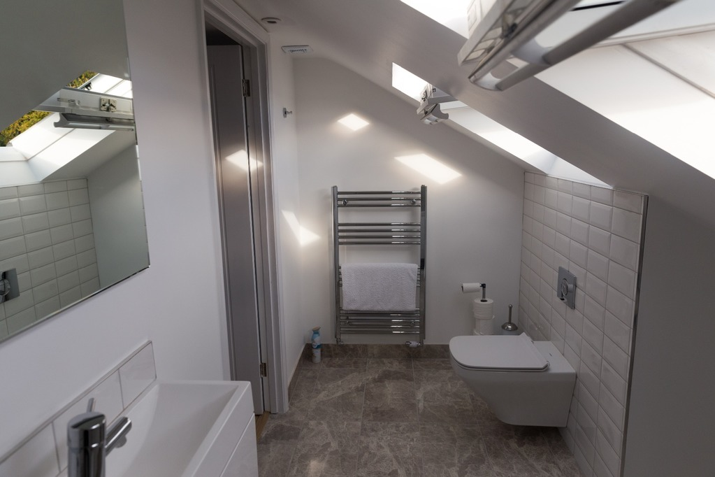 Dormer loft conversion bathroom, Maidenhead