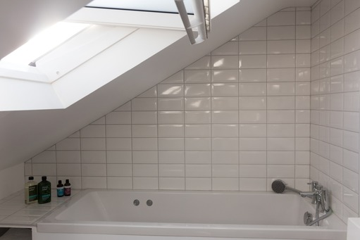 Bathroom in dormer loft conversion, Berkshire