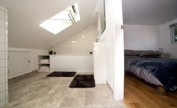 Bedroom and ensuite bathroom loft conversion in Maidenhead