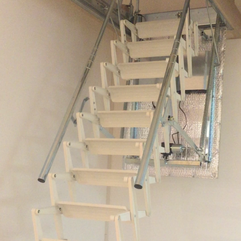 concertina electric loft ladder berkshire