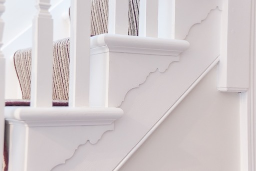 Traditional staircase refurbishment, Berkshire