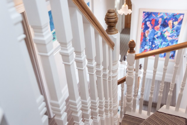Traditional staircase to loft conversion refurbishment, Berkshire