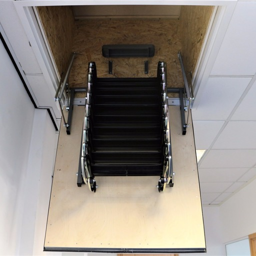 Industrial access ladder unit for Suspended Ceilings in Commercial properties