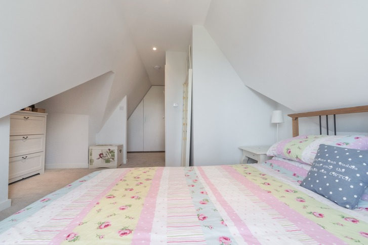 Loft conversion with Juliet balcony, Windsor