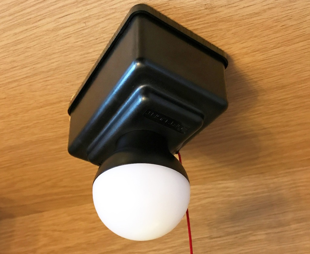LED loft light, The Loft Access Company