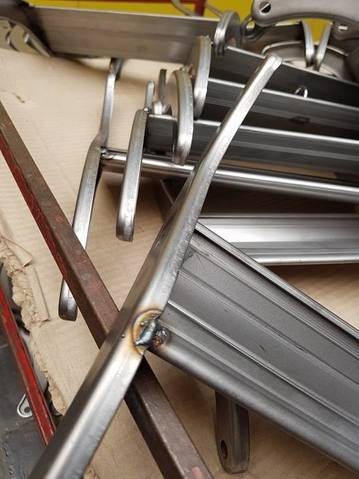 heavy duty concertina ladder UK