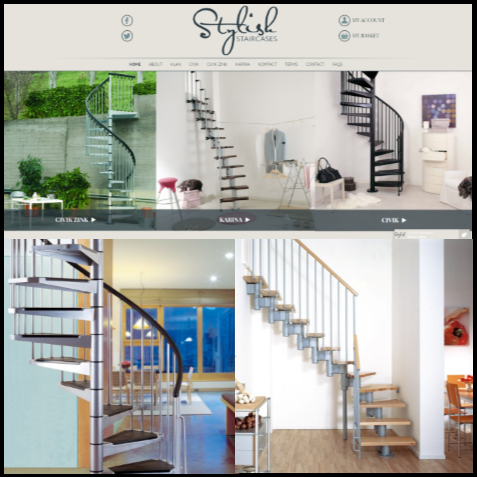Our newly launched company, Stylish Staircases, is live!