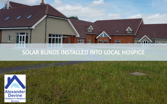 solar roof window blinds installed in hospice maidenhead