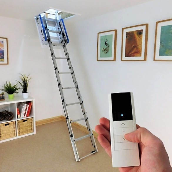 telescopic electric loft ladder windsor